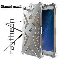 ZIMON Case For Xiaomi Mi Max2 Case Coque Original Simon Metal Aluminum Luxury Batman For Xiaomi