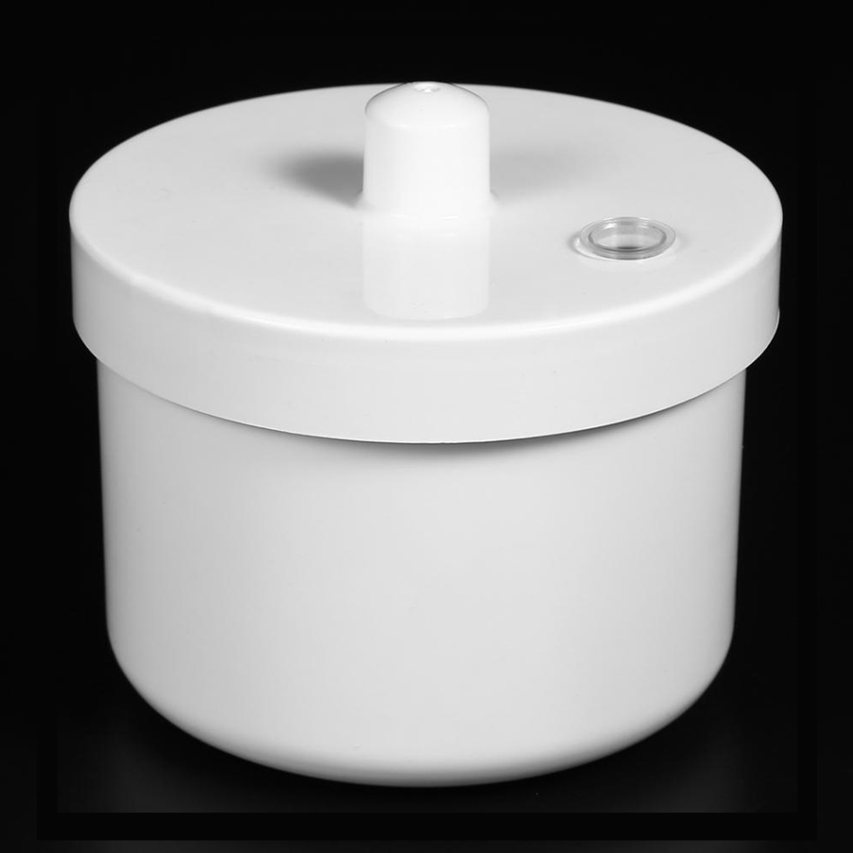 Nails Art Disinfection Round Box Sterilizer Pot Clean Jar for Nail Art Metal Tools Manicure Accessories Manicure For Fingernails