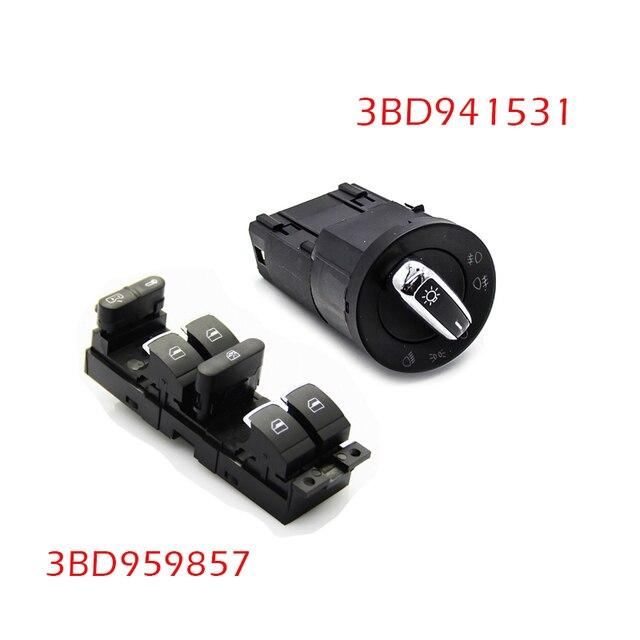 Power Window Headlight Switch Bd Bd For Vw Golf Jetta Mk Passat B Seat Leon Toledo Jpg X