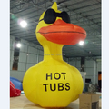 4M high inflatable duck cartoon balloon toy for advertising in aliexpress