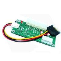 PC Desktop ATX 24Pin Podwójny PSU Zasilacz Przedłużacz Kabla Synchronizacji Startowy dla Bitcoin Górnik RIG