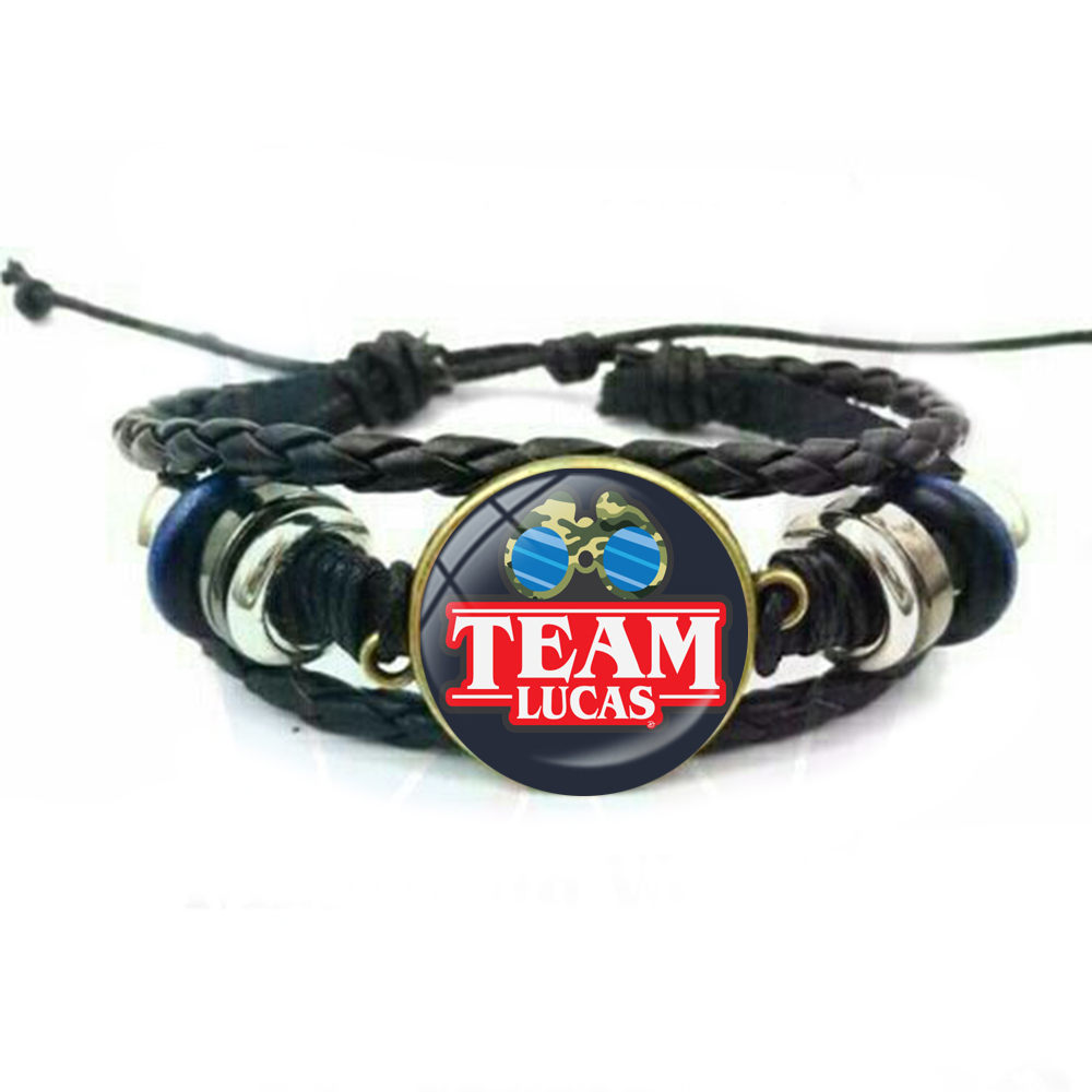Giancomics Hot US TV Series Stranger Things Bracelet Charm Hand Chain Wristband Wrist Strap Otaku Bracelet Jewelry Ornament Gift