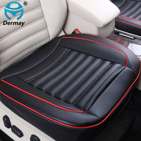 Special Provision Leather Car Seat Cover Universal With Buckwheat Shell Inside Good For Health 3D Design
