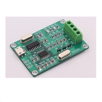 USB three phase sinusoidal signal generator Phase adjustable 0 to 360 degrees Frequency 0.1 to 2000 Hz