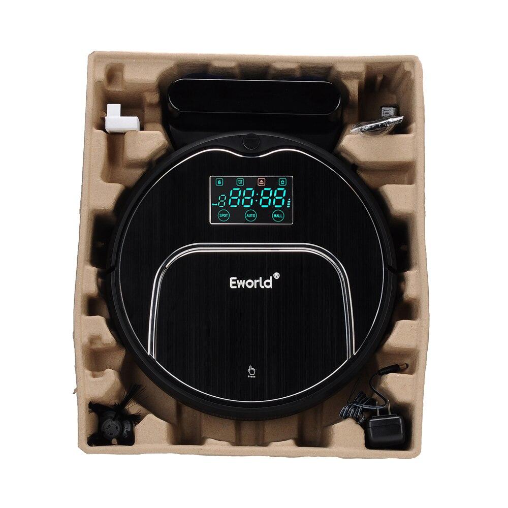 Eworld Intelligent Robot Vacuum Cleaner for Home Clean HEPA Filter Cliff Sensor Remote Control Self Charge M883 ROBOT ASPIRADOR стоимость