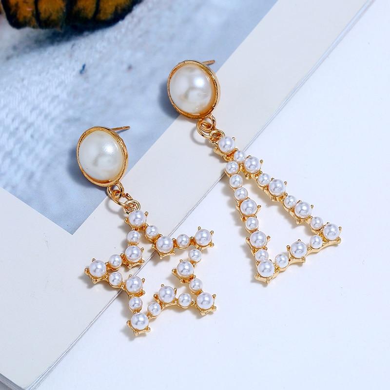 Pearl Drop Earrings (4)