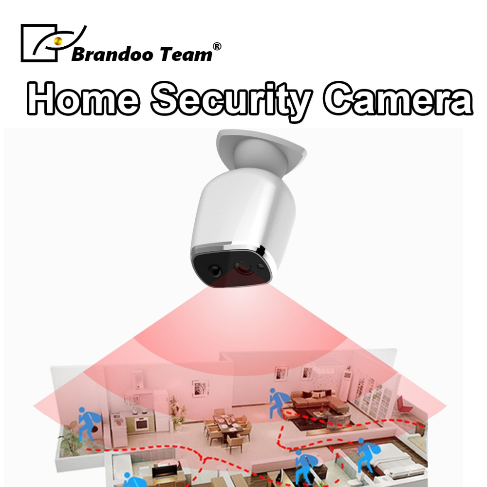 Brandoo Video Intercom WI-FI Video Door Phone Wireless WIFI Doorbell For Apartments IR Alarm Home Security Camera Free Shipping
