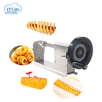 Hot Selling! Manual Twisted Potato Cutter,Potato Chips Slicer,High Quality French Fry Cutter, Fast Delivery Cutting Machine