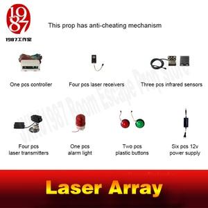 Image 5 - Лазерный лабиринт, реквизит для игры в спасательный зал, реквизит для лазерной лабиринта для секретной игры