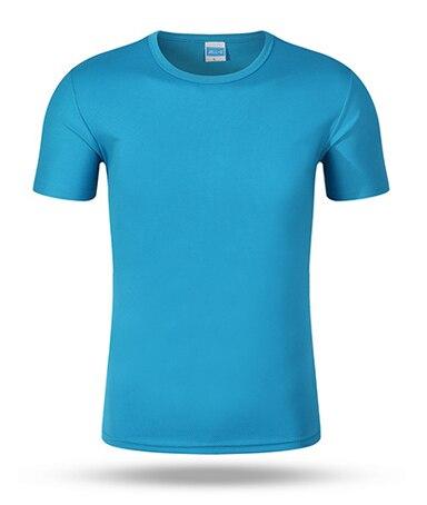 5 choisir haute qualité 2018 printemps/été nouveau style Polyester manches Courtes T-shirt a13-m1c7