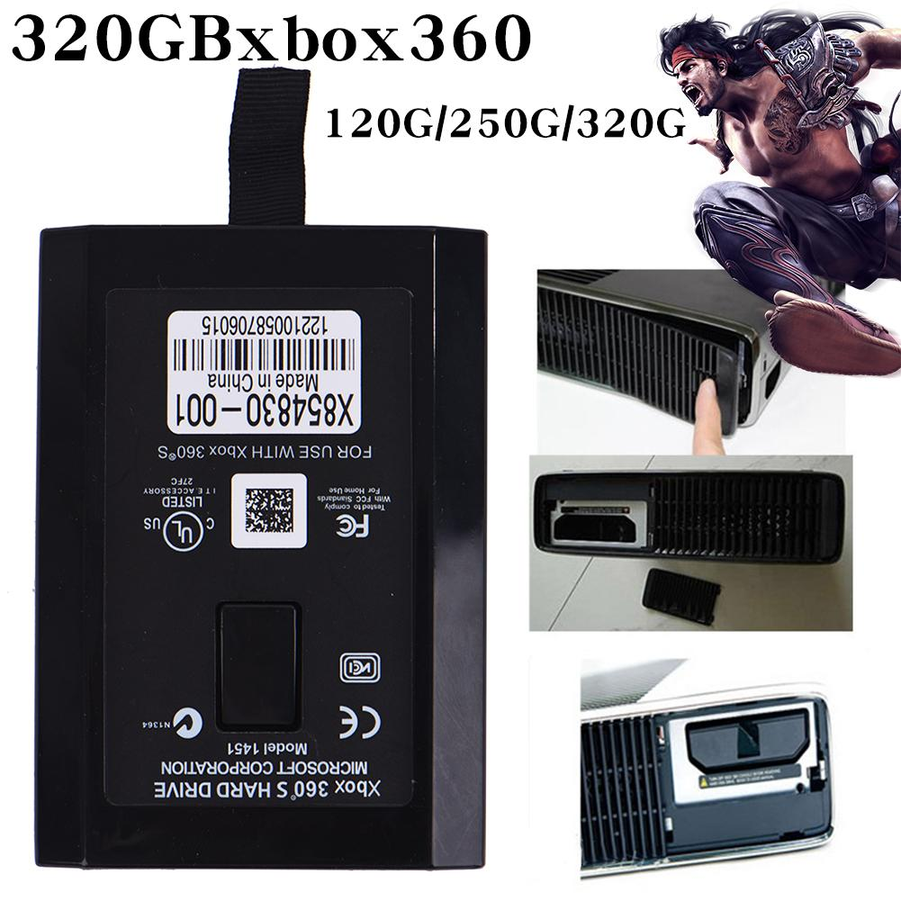 Gaming Hard Drive 120G / 250G / 320G Capacity For XBOX XBOX360 S XBOXSlim Microsoft Corporation CE FCC UL Game Hard Disk Storage image