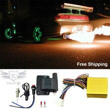 Авиационный алюминиевый выхлоп огнеметный комплект, универсальный для автомобилей моторы квадроциклы пожарная горелка комплект Afterburner