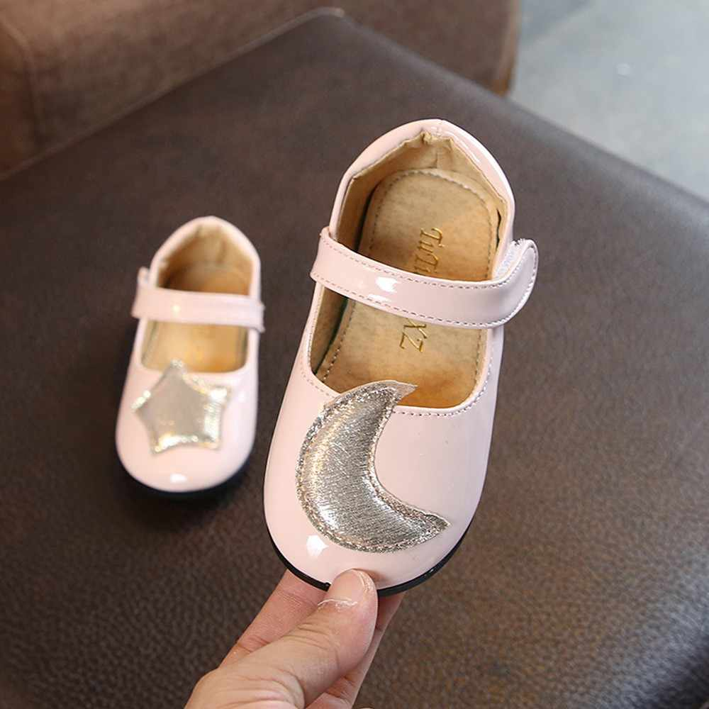 afee05a96df4b Detail Feedback Questions about 12M 6T years old 2018 Autumn new kids  Children Infant Kid baby girl shoes Moon Star Princess Student Single  Casual Pattern ...