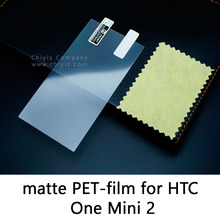 Glossy Lucent Frosted Matte Anti glare Tempered Glass Protective Film Screen Protector For HTC One Mini