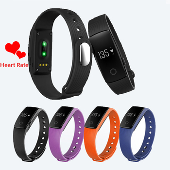 V05c Heart Rate Monitor smart bracelet fitness tracker calorie counting Band Alarm Clock Vibration Wristband smart band saat