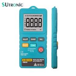 RM088 dodatkowy cyfrowy multimetr mini 8000 zlicza częstotliwość linii true rms latarka AC/napięcie prądu stałego Ohm z brzęczykiem w Mierniki wielofunk. od Narzędzia na