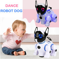 May baby #5001 ntelligent Electronic Pet Toy Robot Dog Kids Walking Puppy Action Toys drop shopping