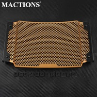 For KTM DUKE 790 2018 Motorcycle Accessories Part Radiator Grille Cover Guard Stainless Steel Protection Orange Water Protector
