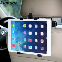 купить Universal 7-11 inch Tablet Car holder Stand for iPad Mini 1/2/3/4 Air 2 Pro 9.7 Tablet Holder Car for iPad 9.7 Pro 10.5 Mount по цене 592.64 рублей
