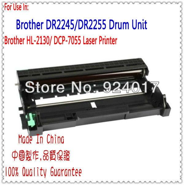 DR2245 Imaging Drum For Brother HL-2130 DCP-7055 Laser Printer,Use For Brother DR 2245 Drum Unit Laser Image Drum,Free Shipping image drum unit for okidata c711 c711n c711dn c711dtn printer for oki 44318501 44318502 44318503 44318504 711 imaging drum unit