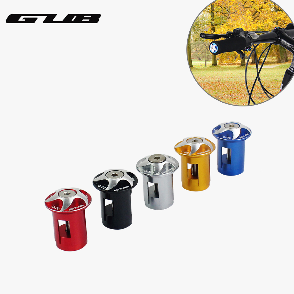 2pcs Mountain Bike Handlebar Ends Bicycle Grip Ends Caps ...