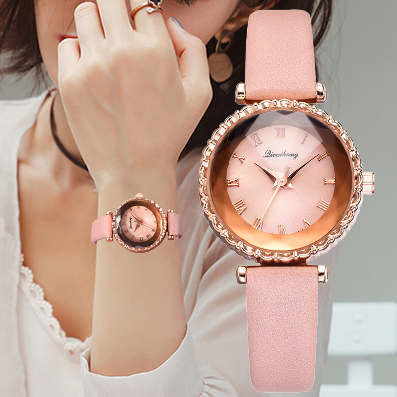 Woman Watches Exquisite Simple Luxury Fashion Quartz Wristwatches Top Brand Ladies Clock Reloj Mujer 2019 Bracelet Women's Watch