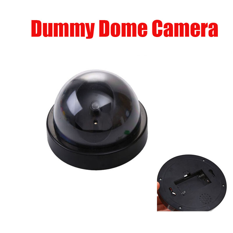 Dummy Fake Surveillance CCTV Security Dome Camera w/ Flashing Red LED Light Free Shipping теплый пол rexant rnb 59 700