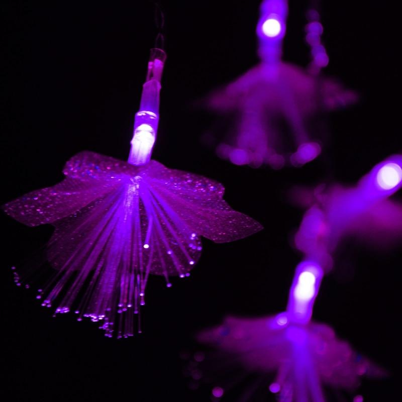 Led10 м 100 талшықты-оптикалық шамдар - Мерекелік жарықтандыру - фото 6