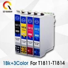 4 совместимых чернильных картриджа 18xl t1811 t1816 xp205 xp305