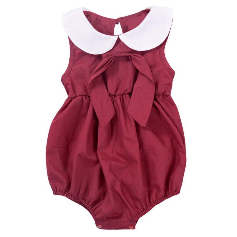 2018 New Arrived Baby Girl Overalls Summer Newborn Clothes Cute Infant Sleeveless Bodysuits M2
