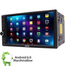 "Android 6.0 2DIN no cd dvd 7 ""coche reproductor Radios BT estéreo WiFi eincar GPS NAV"