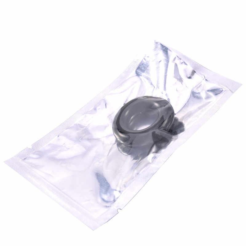 1 sztuk pierścienie na penisa zestaw kryształowy wytrysk opóźnienia Cockring silikonowy Cock erekcja pierścień nosze zabawki erotyczne dla mężczyzn mężczyzna