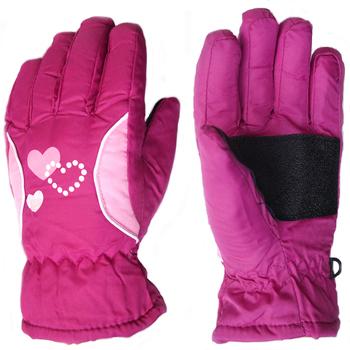 3-10Y dzieci zimowe ciepłe rękawiczki dzieci chłopcy dziewczęta narciarskie kolarstwo wspinaczka rękawice ogrodowe wodoodporne TQ055 tanie i dobre opinie NoEnName_Null Poliester 100 poly Dla dzieci 23*9 5CM Patchwork Unisex
