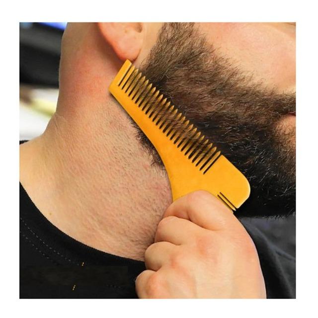 Beard Shaping Trim Template