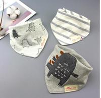 Baby Towel Cotton Double Bibs Baby Newborn Children Bibs Three Autumn And Winter