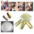ColorWomen 1g/ Box Gold Sliver Nail Glitter Powder Shinning Nail Mirror Powder Makeup Art DIY Chrome Pigment 160727