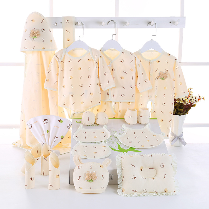 2019 Organic Cotton Baby Clothes All Seasons New Born Baby ...