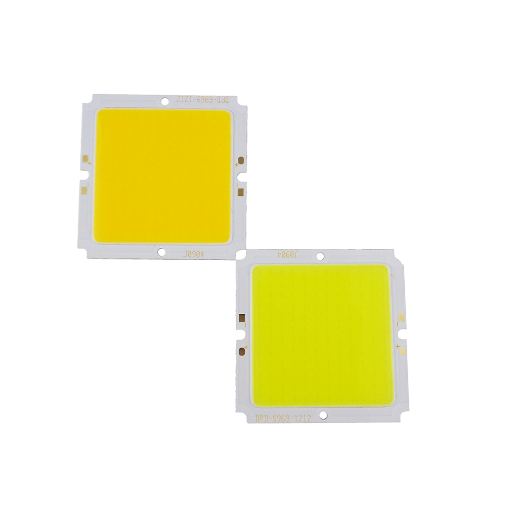 30W Ultra Bright COB LED source Pure/Warm White Strip Light Lamp Beadchip diy DC 36-39v size 69*69mm 3000LM#15718 1PCS/LOT 5pcs lot waterproof 60cm 40cm 30cm 20cm cob strip led bar lights for car lamps diy led lighting dc 12v 10w 20w warm cold white