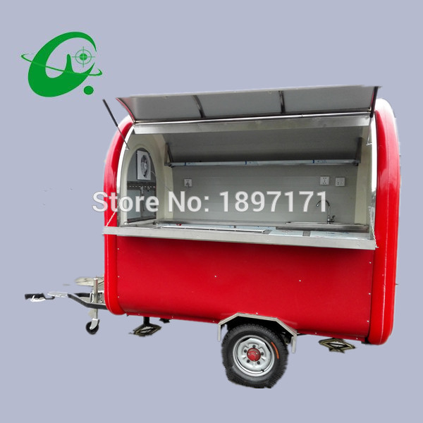 factory directly Street food cart Ice cream Venidng Cart mobile food kiosk for sale multifunctional mobile food trailer cart fast food kitchen concession trailer