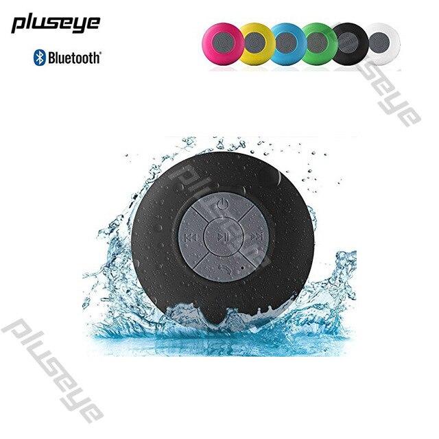 Pluseye Bluetooth Водонепроницаемый Беспроводной Динамик для душа музыкальный плеер Портативный Открытый Bluetooth Altavoz для IPhone Xiaomi