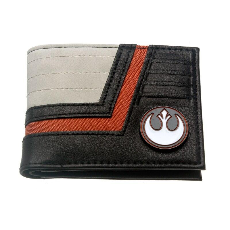 Star Wars Bi-Fold Wallet Women Purse 3158