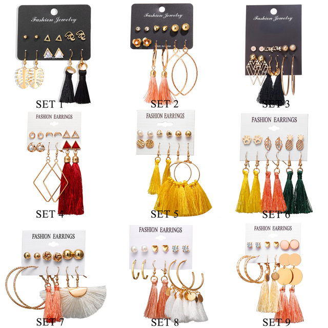 Earrings Sets 1