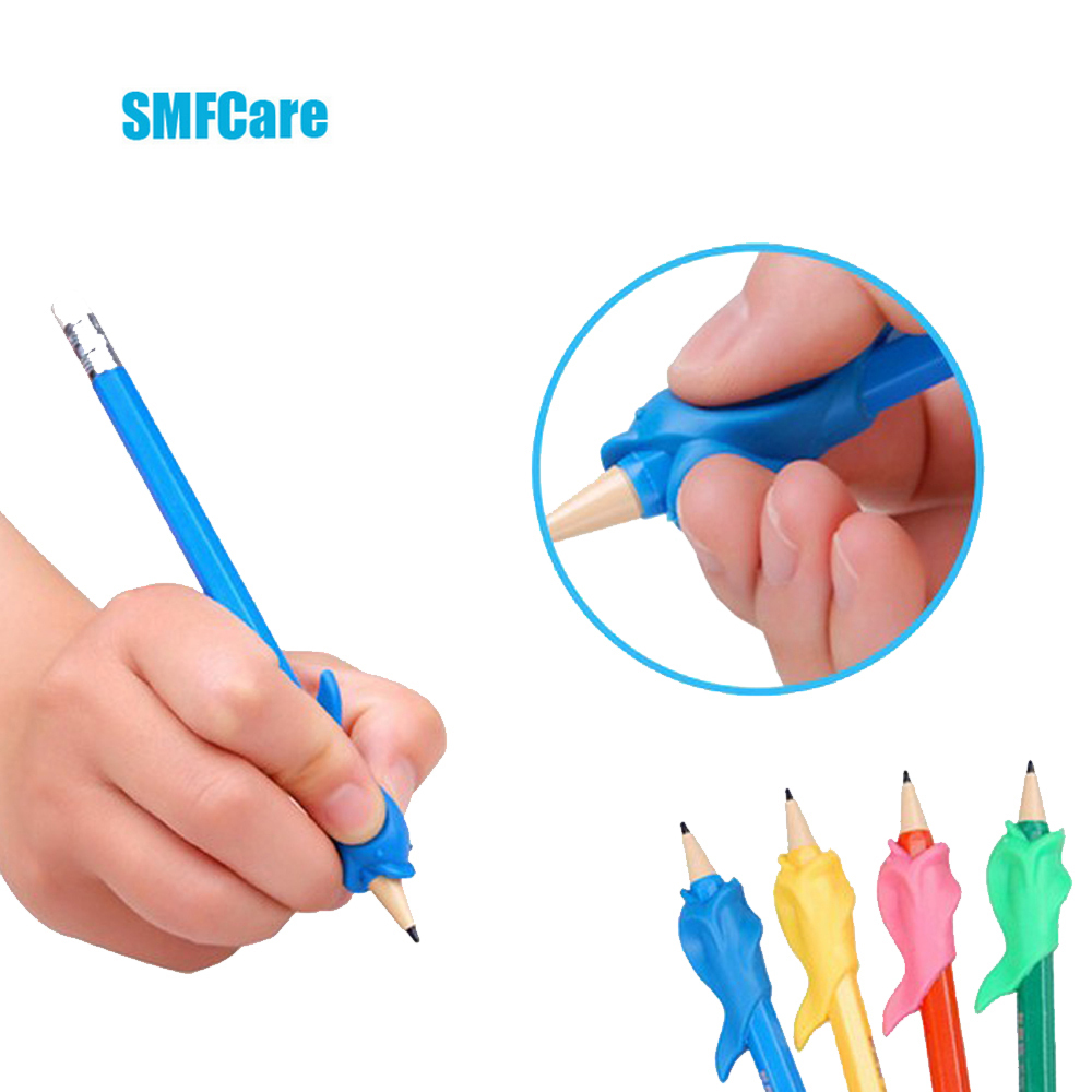 Student Writing Posture Corrective Braces to Hold a Pen Device, Dolphin Fish Gel Pen Pencil Hold a Pen Device Massage Z34801