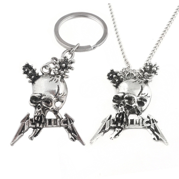 Metallica Skull Pendant / Necklace