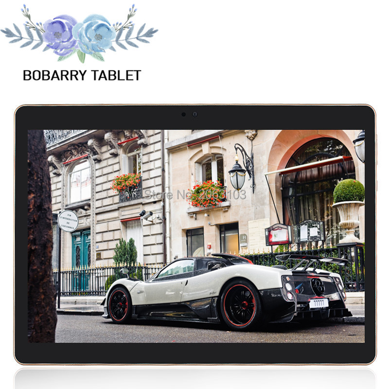 BOBARRY Tablets Android 5 1 Octa Core 64GB ROM Dual Camera and Dual SIM Tablet PC