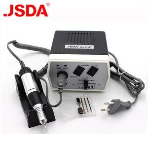 Image 1 - 35 Watt JD400 Pro Elektrische Nail art Bohrmaschine Nagel Ausrüstung Maniküre Pediküre Dateien Elektrische Maniküre Bohrer & Zubehör