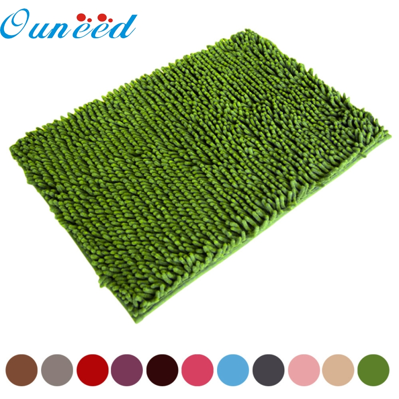 Top Grand 2016 Soft Shaggy Non Slip Absorbent Bath Mat Bathroom Shower Rugs Carpet New Arrival Free Fast Shipping