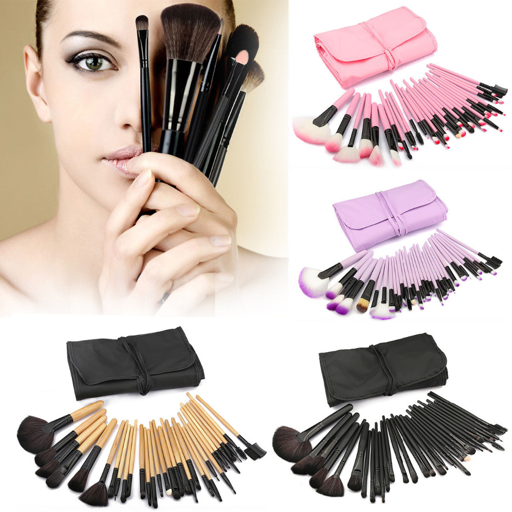 Vander 32pcs Makeup Brush Set Cosmetic Brushes High Quality Foundation Powder Blusher Eyeliner pincel maquiagem Kits