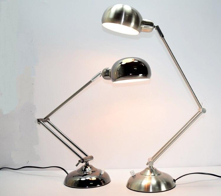 Fer Pliable lampe de bureau bureau ordinateur de travail soins oculaires de lecture enfants dortoir décorations éclairage lampes de table FG884