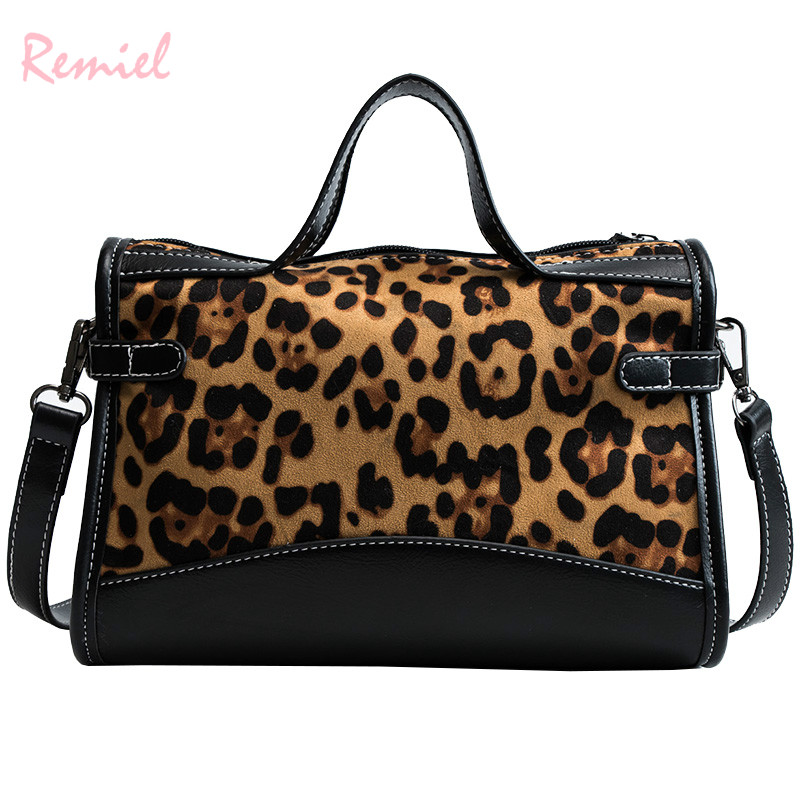 7c0d61a05578 Detail Feedback Questions about Sexy Leopard Ladies Big Tote bag 2018 New  Fashion Retro High quality Suede Women s Designer Handbag Large Shoulder  Messenger ...